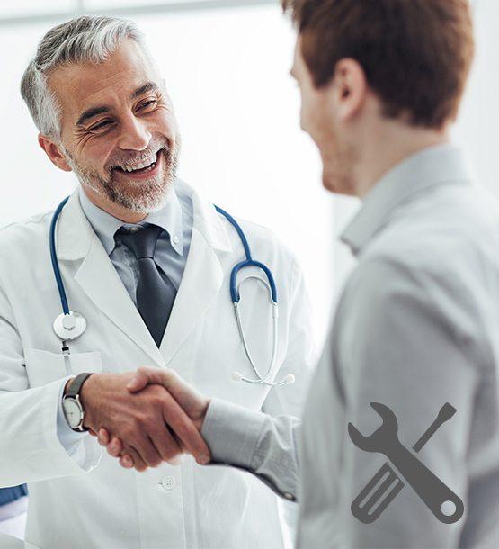 Serviceleistungen für eine moderne Arztpraxis